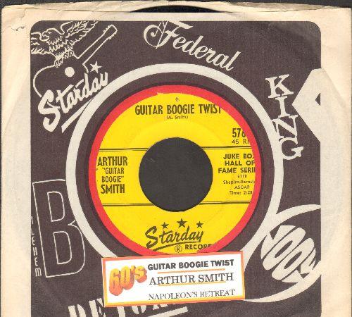 Smith, Arthur - Guitar Boogie Twist/Napoleon's Retreat (wiith juke box label and company sleeve) - EX8/ - 45 rpm Records
