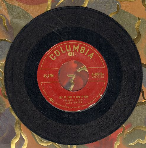 Smith, Carl - Try To Take It Like A Man/Mr. Lost - VG7/ - 45 rpm Records