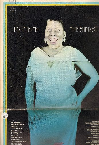 Smith, Bessie - The Empress: Muddy Water, St. Louis Blues, Cake Walkin' Babies, Send Me To The 'Lectric Chair (2 vinyl LP record set, 1971 issue of vintage recordings, gate-fold cover) - NM9/NM9 - LP Records