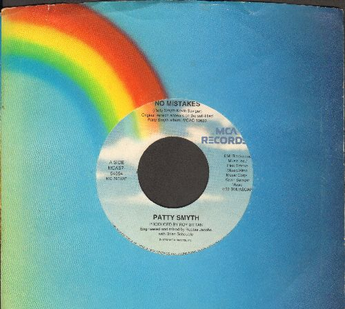 Smyth, Patty - No Mistake/River Of Love (with MCA company sleeve) - NM9/ - 45 rpm Records