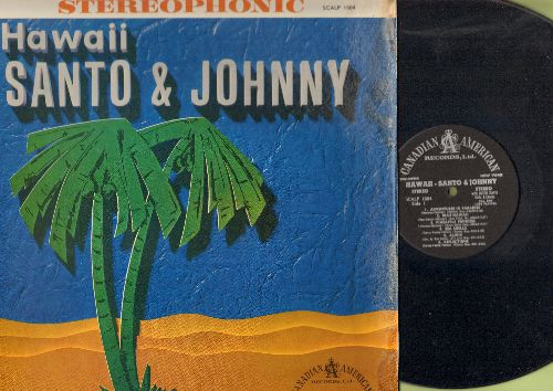 Santo & Johnny - Hawaii: Adventures In Paradise, Blue Hawaii, Pineapple Princess, Sweet Lelani, Hawaiian War Chant (vinyl STEREO LP record) - EX8/VG7 - LP Records