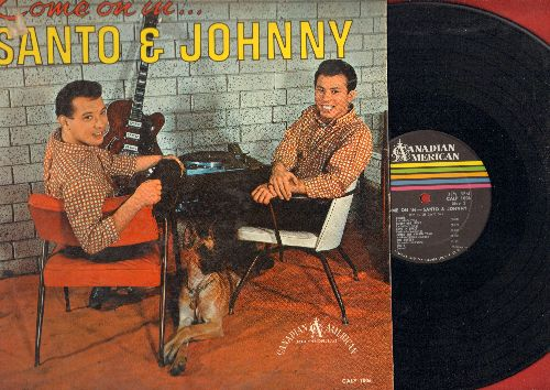 Santo & Johnny - Come On In: Mack The Knife, Spanish Harlem, Theme From A Summer Place, Brazil, Misty (Vinyl LP record, RARE STEREO pressing) - EX8/EX8 - LP Records