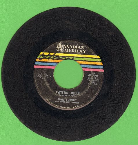 Santo & Johnny - Twistin' Bells/Bullseye  - VG6/ - 45 rpm Records