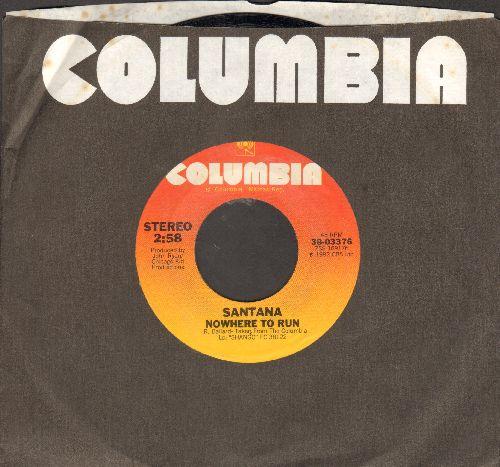 Santana - Nowhere To Run/Nueva York (with company sleeve) - NM9/ - 45 rpm Records