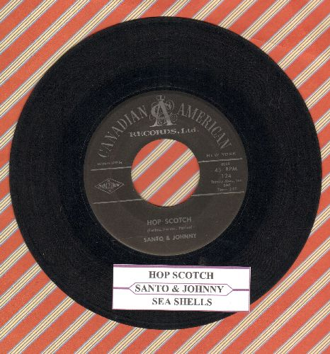 Santo & Johnny - Hop Scotch/Sea Shells (with juke box label) - EX8/ - 45 rpm Records