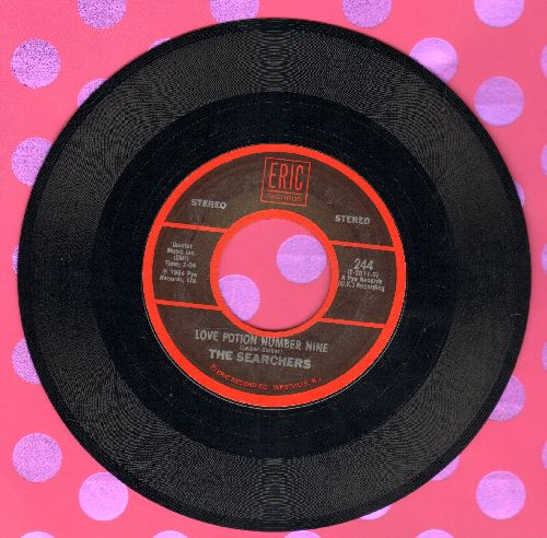 Searchers - Love Potion Number Nine/Needles And Pins (double-hit re-issue) - NM9/ - 45 rpm Records