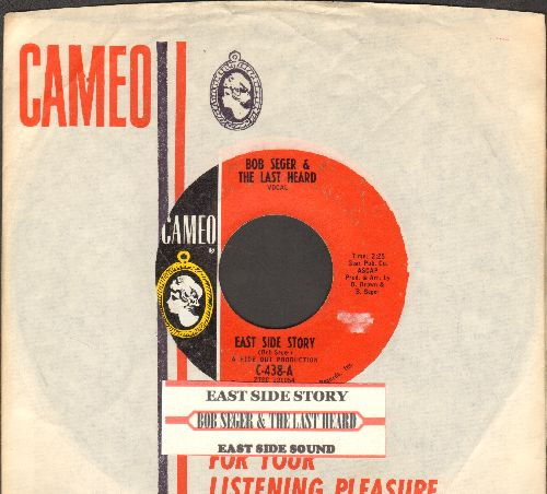 Seger, Bob & The Last Heard - East Side Story/East Side Sound (with RARE Cameo company sleeve and juke box label) - EX8/ - 45 rpm Records