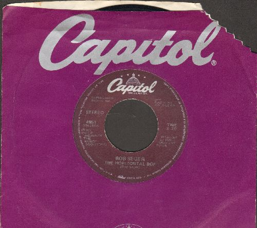 Seger, Bob - The Horizontal Bop/Her Strut (with Capitol company sleeve - EX8/ - 45 rpm Records