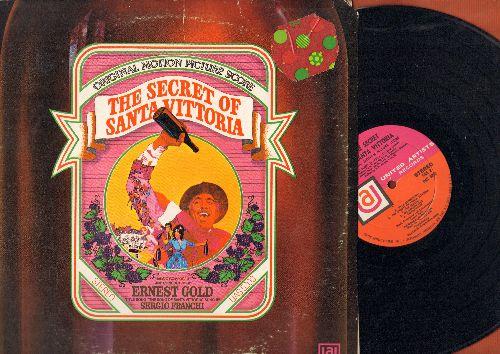 Gold, Ernest - The Secret Of Santa Vittoria - Original Film Sound Track, dramatic highlights, music by Ernest Gold, composer of Exodus (Vinyl STEREO LP record) - NM9/VG7 - LP Records