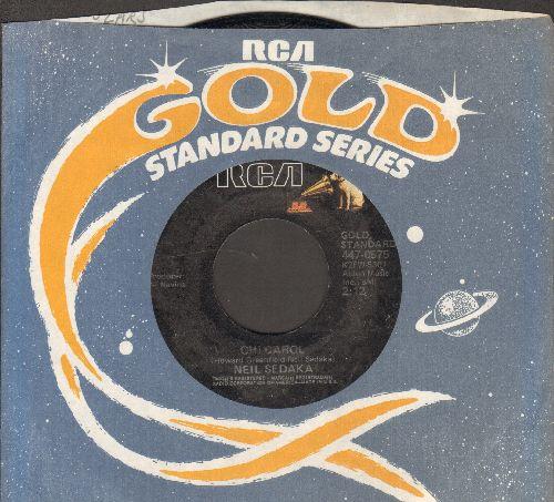 Sedaka, Neil - Calendar Girl/Oh! Carol (double-hit re-issue with company sleeve) - VG7/ - 45 rpm Records