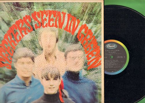 Seekers - Seekers Seen In Green: 59th Street Bridge Song (Feelin' Groovy), If You Go Away, Colour Of My Life, When The Good Apples Fall (Vinyl STEREO LP record, gate-fold cover) - NM9/EX8 - LP Records