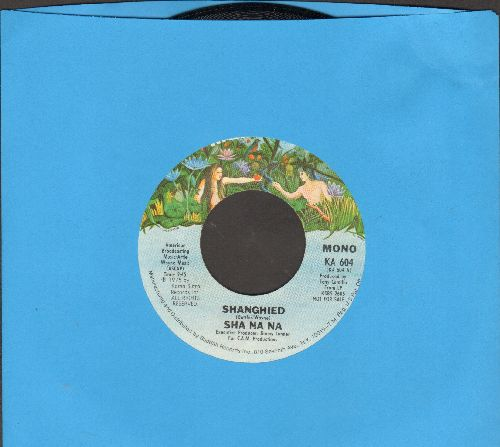 Sha Na Na - Shanghied (double-A-sided DJ advance pressing with MONO and STEREO version) - NM9/ - 45 rpm Records