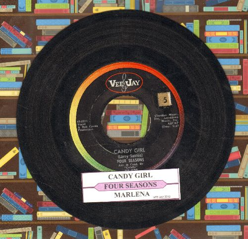 Four Seasons - Marlena/Candy Girl (with juke box label) - VG7/ - 45 rpm Records