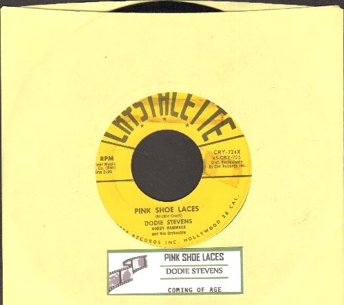 Stevens, Dodie - Pink Shoe Laces/Coming Of Age (The ULTIMATE 50s Girl-Sound, first issue in NICE condition!) - NM9/ - 45 rpm Records