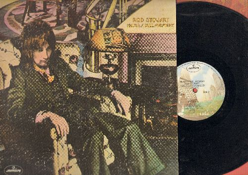 Stewart, Rod - Never A Dull Moment: True Blue, Twistin' The Night Away, Angel, Italian Girls (Vinyl STEREO LP record, gate-fold cover) - NM9/EX8 - LP Records