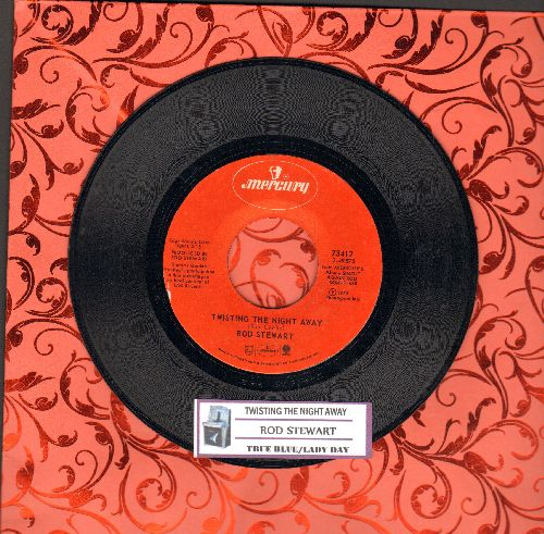 Stewart, Rod - Twisting The Night Away/True Blue/Lady Day (with juke box label) - EX8/ - 45 rpm Records