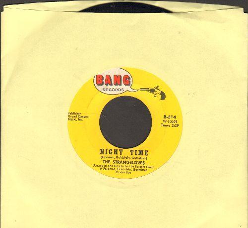 Strangeloves - Night Time/Rhythm Of Love - EX8/ - 45 rpm Records