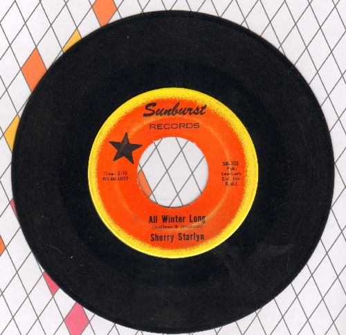 Starlyn, Sherry - All Winter Long/Love Bug Itch  - EX8/ - 45 rpm Records