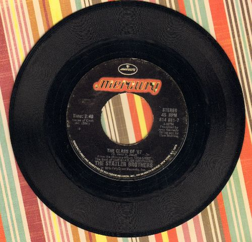 Statler Brothers - The Class Of '57/Elizabeth - VG7/ - 45 rpm Records