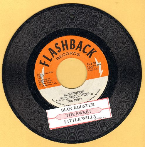 Sweet - Block Buster/Little Willy (early double-hit re-issue with juke box label) - EX8/ - 45 rpm Records