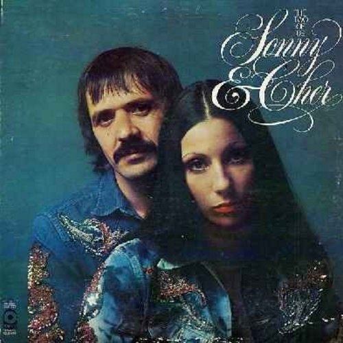 Sonny & Cher - The Two Of Us: I Got You Babe, Unchained Melody, Baby Don't Go, The Letter, Let It Be Me, The Beat Goes On, You Baby, Stand By Me (2 vinyl LP records, gate-fold cover, counts as 2LPs) - EX8/VG6 - LP Records