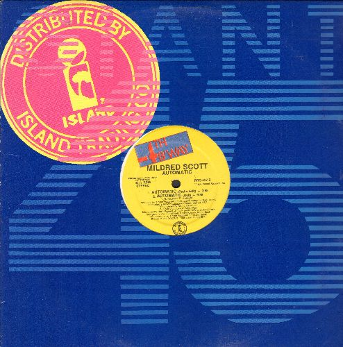 Scott, Mildred - Autmatic - 4 Different Extended Club Mixes on 12 inch vinyl Maxi Single with original Island company cover) - NM9/NM9 - Maxi Singles