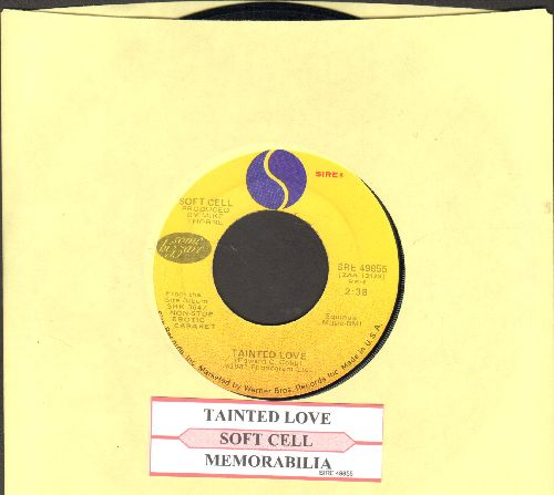 Soft Cell - Tainted Love/Memorabilia (with juke box label) - EX8/ - 45 rpm Records