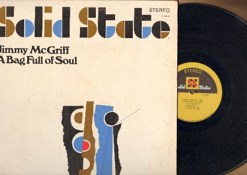 McGriff, Jimmy - A Bag Full Of Soul: See See Rider, Red River Blues, Bostong Bust Out, D. B. Blues (Parts 1 + 2) (Vinyl STEREO LP record, gate-fold cover) - EX8/EX8 - LP Records