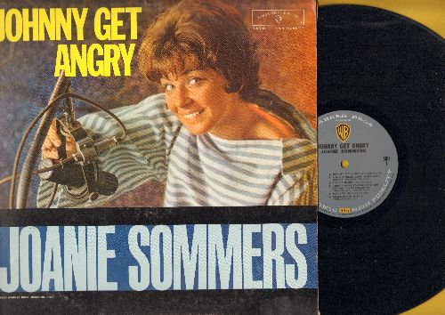 Sommers, Joanie - Johnny Get Angry: The Piano Boy, Shake Hands With A Fool, One Boy, Since Randy Moved Away, Theme From A Summer Place (Vinyl MONO LP record) - NM9/VG7 - LP Records