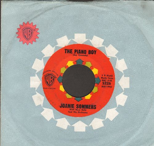 Sommers, Joanie - The Piano Boy/Serenade Of The Bells (with vintage Warner Brothers company sleeve) (wol) - EX8/ - 45 rpm Records