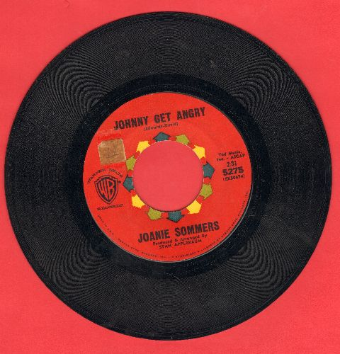 Sommers, Joanie - Johnny Get Angry/Theme From A Summer Place  - VG6/ - 45 rpm Records
