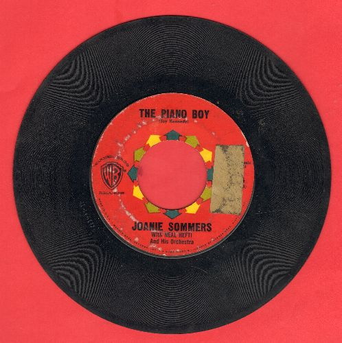Sommers, Joanie - The Piano Boy/Serenade Of The Bells (sol) - VG6/ - 45 rpm Records
