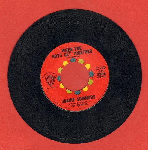 Sommers, Joanie - When The Boys Get Together/Passing Strangers - EX8/ - 45 rpm Records