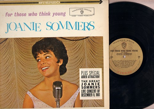 Sommers, Joanie - For Those Who Think Young: A Lot Of Livin' To Do, Hard Headed Hannah, Blues In The Night, I Feel Pretty, You Came A Long Way From St. Louis (Vinyl LP record, RARE STEREO Pressing) - NM9/EX8 - LP Records