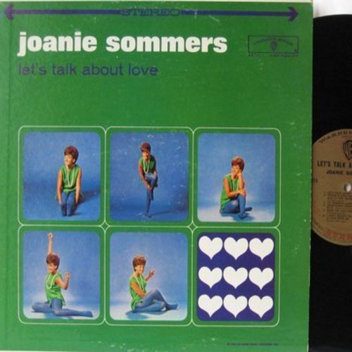 Sommers, Joanie - Let's Talk About Love: Till There Was You, I'll Never Stop Loving You, Spring Is Here, I'm Nobody's Baby (vinyl STEREO LP record) - EX8/EX8 - LP Records
