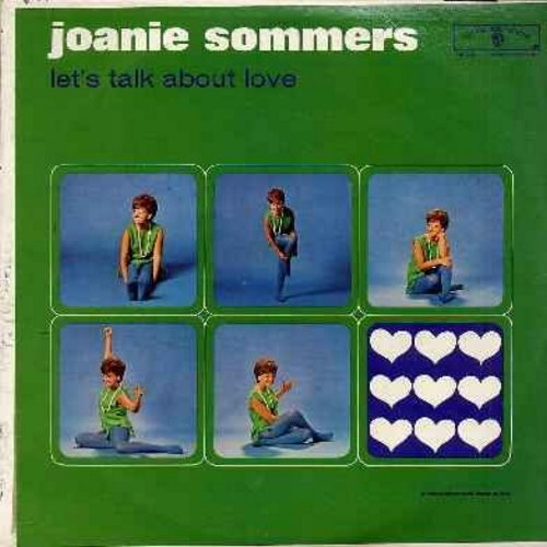 Sommers, Joanie - Let's Talk About Love: Till There Was You, I'll Never Stop Loving You, Spring Is Here, I'm Nobody's Baby (vinyl MONO LP record, NICE condition!) - EX8/VG7 - LP Records