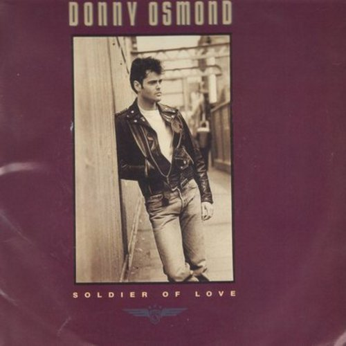 Osmond, Donny - Soldier Of Love/My Secret Touch (with picture sleeve) - NM9/EX8 - 45 rpm Records