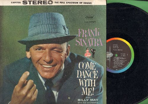 Sinatra, Frank - Come Dance With Me!: Something's Gotta Give, Cheek To Cheek, Dancing In The Dark (vinyl STEREO LP record) - EX8/VG7 - LP Records