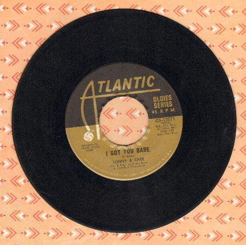 Sonny & Cher - I Got You Babe/Just You (re-issue) - VG7/ - 45 rpm Records