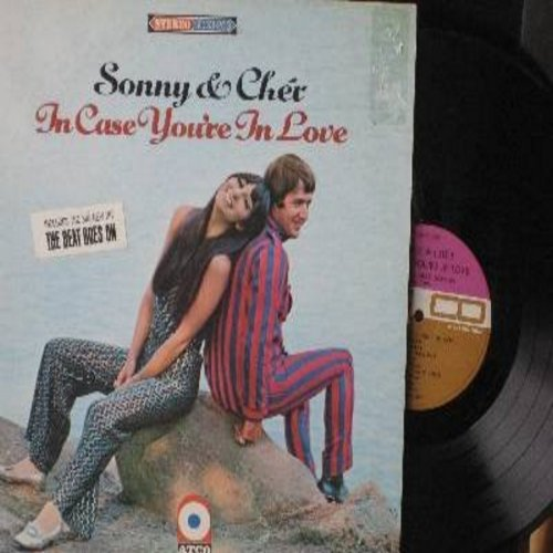 Sonny & Cher - In Case You're In Love: The Beat Goes On, Groovy Kind Of Love, You Baby, Stand By Me, We'll Sing In The Sunshine (Vinyl STEREO LP record) - NM9/EX8 - LP Records
