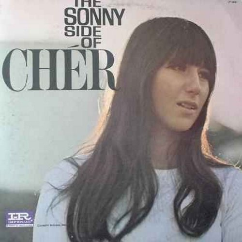 Cher - The Sonny Side Of Cher: Bang Bang, Elusive Butterfly, Our Day Will Come, It's Not Unusual, Old Man River, Milord - EX8/VG7 - LP Records