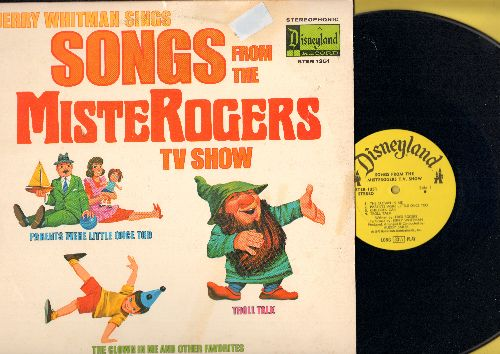 Whitman, Jerry - Songs From The Mister Rogers TV Show: Parents Were Little Too, Troll Talk, Let's Get Together Today (Vinyl STEREO LP record) - EX8/VG7 - LP Records