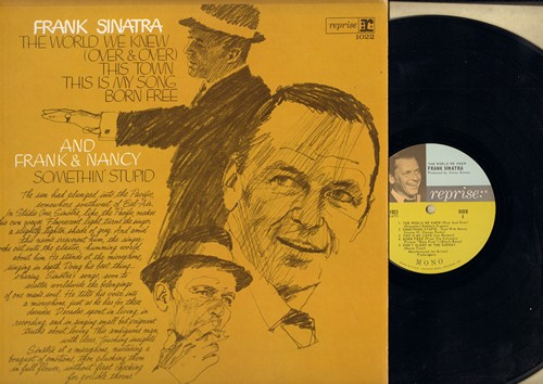 Sinatra, Frank - The World We Knew: Born Free, Somethin' Stupid (duet with Nancy Sinatra), This Is My Song, Some Enchanted Evening (Vinyl MONO LP record) - NM9/NM9 - LP Records