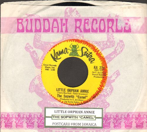 Sopwith Camel - Little Orphan Annie/Postcard From Jamaica (with juke box label and Buddah company sleeve)  - NM9/ - 45 rpm Records