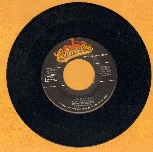Sopwith Camel - Hello Hello/Hold Back The Night (by The Tramms on flip-side) - EX8/ - 45 rpm Records