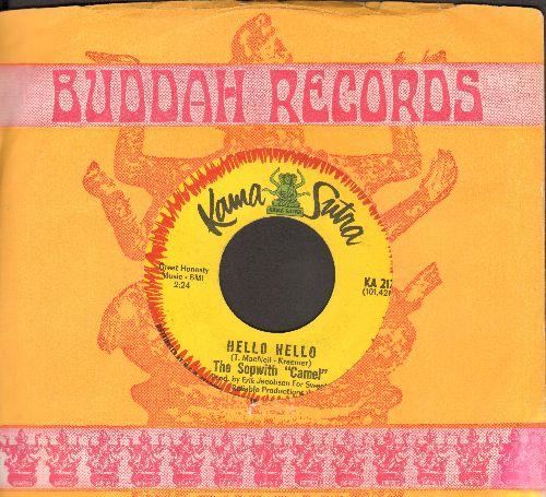 Sopwith Camel - Hello Hello/Treadin' (with company sleeve) - EX8/ - 45 rpm Records