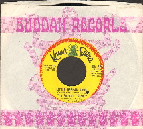 Sopwith Camel - Little Orphan Annie/Postcard From Jamaica (with Buddah company sleeve) (bb) - NM9/ - 45 rpm Records