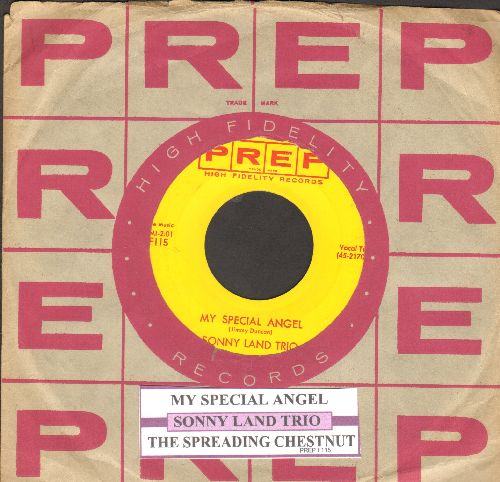 Land, Sonny Trio - My Special Angel/The Spreading Chestnut (with juke box label and company sleeve) - NM9/ - 45 rpm Records