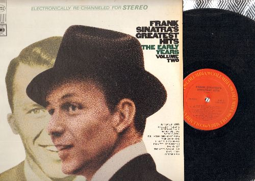 Sinatra, Frank - Frank Sinatra's Greatest Hits The Early Years Vol.2: September Song, Ol' Man River, People Will Say We're In Love, Time After Time (vinyl STEREO LP record, 1980s re-issue) - EX8/EX8 - LP Records