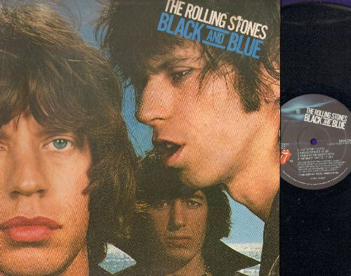 Rolling Stones - Black And Blue: Hot Stuff, Hey Negrita, Crazy Mama, Fool To Cry, Hand Of Fate (vinyl STEREO LP record, gate-fold cover) - NM9/ - LP Records